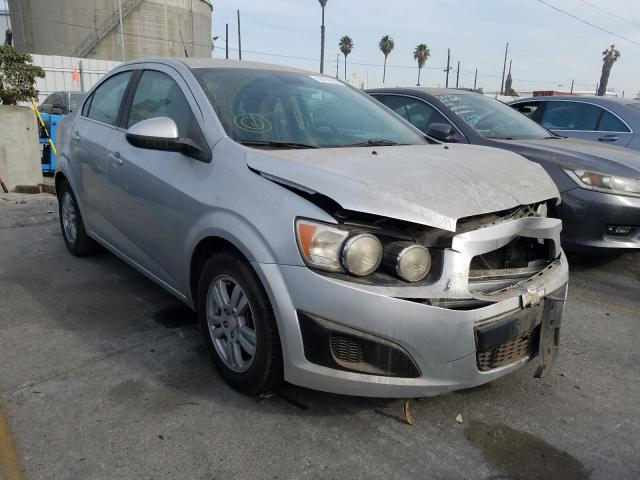Salvage cars for sale from Copart Wilmington, CA: 2013 Chevrolet Sonic LT