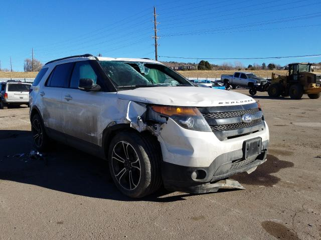Salvage cars for sale from Copart Colorado Springs, CO: 2015 Ford Explorer S