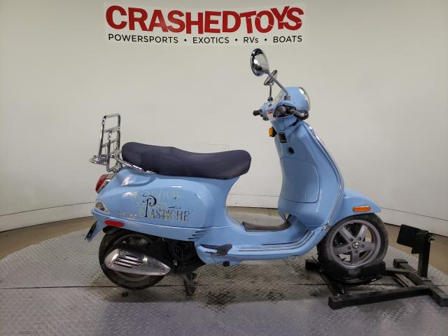 Salvage cars for sale from Copart Dallas, TX: 2009 Vespa LX 150