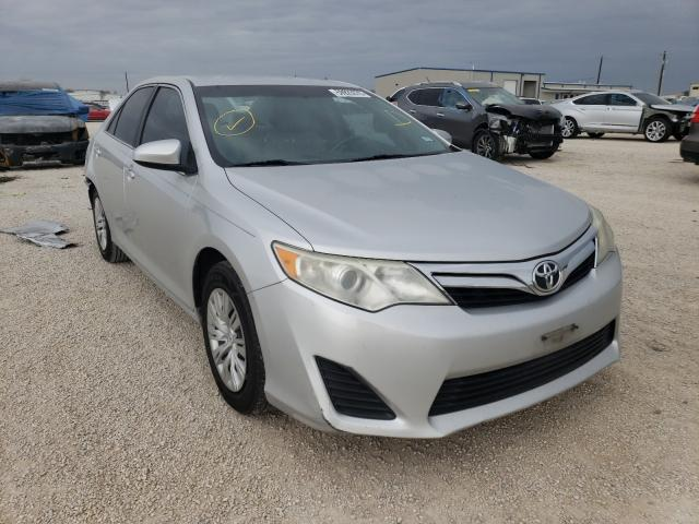 Salvage cars for sale from Copart San Antonio, TX: 2012 Toyota Camry Base