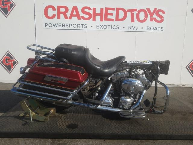 Salvage cars for sale from Copart Van Nuys, CA: 2007 Harley-Davidson Flhtcui
