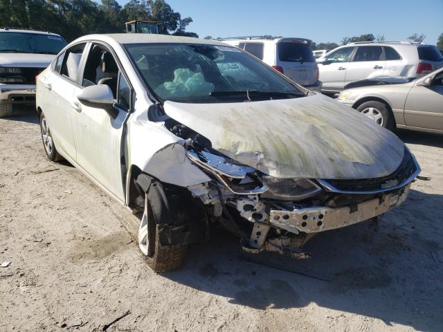 Salvage cars for sale from Copart Ocala, FL: 2017 Chevrolet Cruze LS