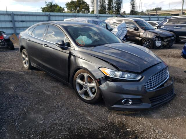 Salvage cars for sale from Copart Miami, FL: 2015 Ford Fusion SE