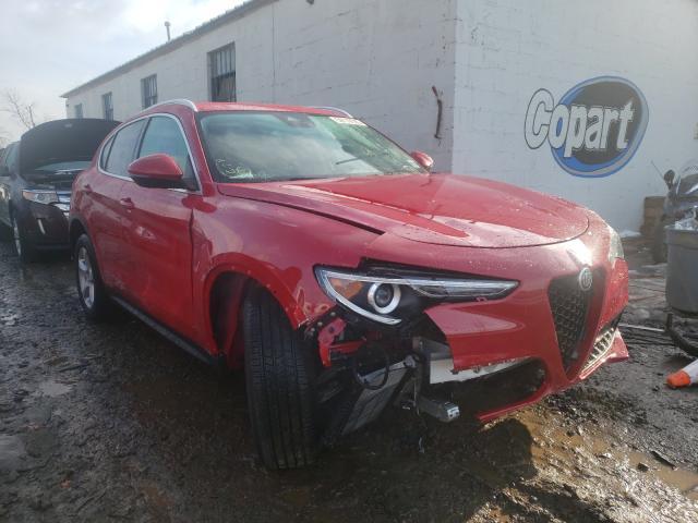 Salvage cars for sale at Hillsborough, NJ auction: 2020 Alfa Romeo Stelvio