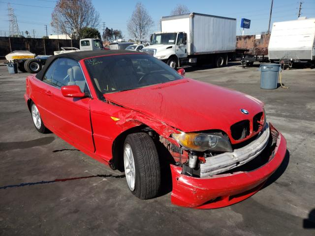 Salvage cars for sale from Copart Wilmington, CA: 2004 BMW 325 CI