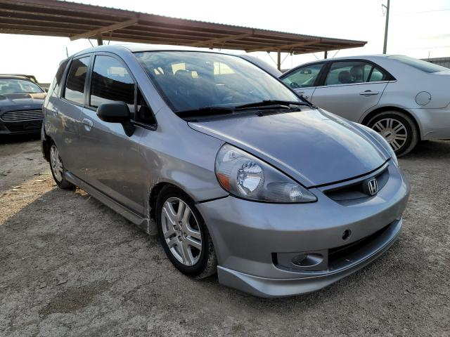 Salvage cars for sale from Copart Temple, TX: 2007 Honda FIT S