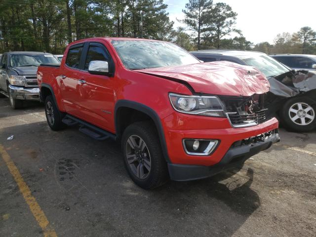 Salvage cars for sale from Copart Eight Mile, AL: 2016 Chevrolet Colorado L