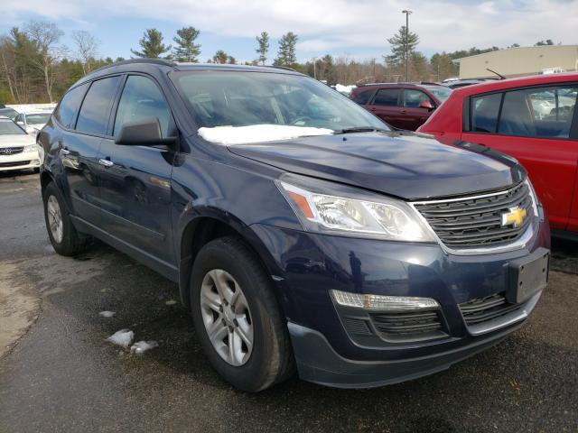 Salvage cars for sale from Copart Exeter, RI: 2015 Chevrolet Traverse L