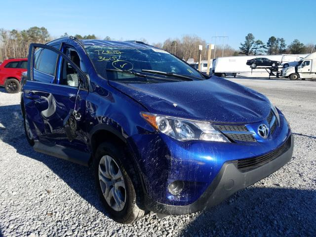 Toyota Rav4 LE salvage cars for sale: 2014 Toyota Rav4 LE