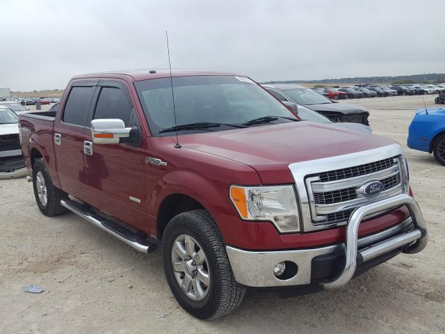 Salvage cars for sale from Copart New Braunfels, TX: 2013 Ford F150 Super