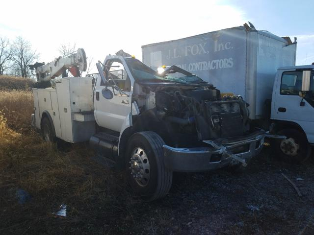 Salvage cars for sale from Copart Cicero, IN: 2006 Ford F750 Super