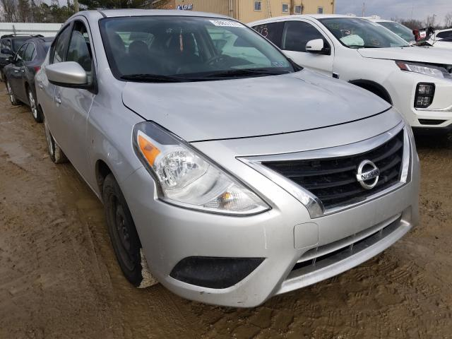 Salvage cars for sale from Copart Glassboro, NJ: 2018 Nissan Versa S