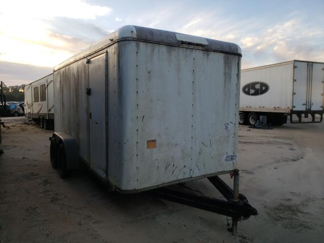Trail King salvage cars for sale: 2004 Trail King Trailer