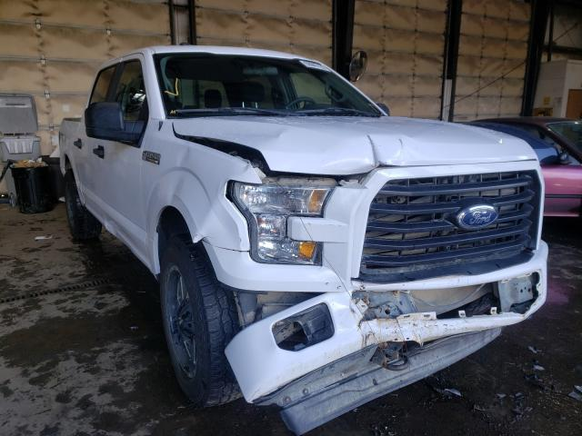 Salvage cars for sale from Copart Graham, WA: 2017 Ford F150 Super