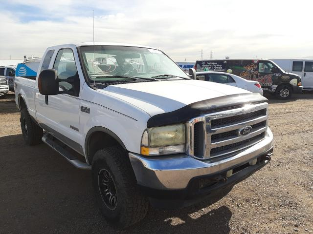 Salvage cars for sale from Copart Phoenix, AZ: 2004 Ford F250 Super