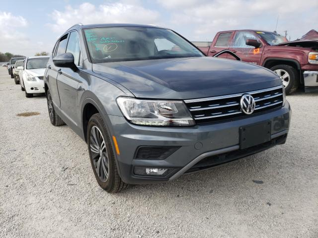 Salvage cars for sale from Copart San Antonio, TX: 2019 Volkswagen Tiguan SE