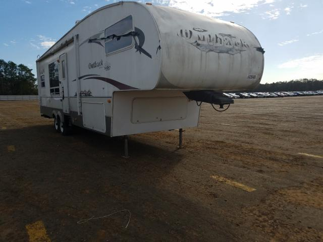 Salvage cars for sale from Copart Theodore, AL: 2008 Keystone 31KFW