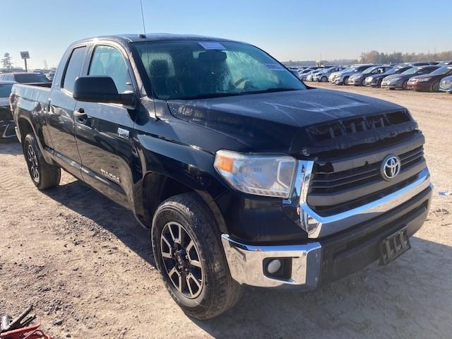 Salvage cars for sale from Copart Houston, TX: 2014 Toyota Tundra DOU