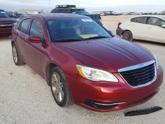 Salvage cars for sale from Copart San Antonio, TX: 2012 Chrysler 200 Touring