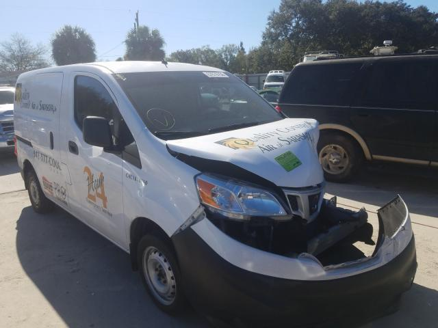 Salvage cars for sale from Copart Punta Gorda, FL: 2017 Nissan NV200 2.5S