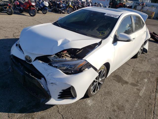 из сша 2017 Toyota Corolla L 1.8L 5YFBURHE1HP602361
