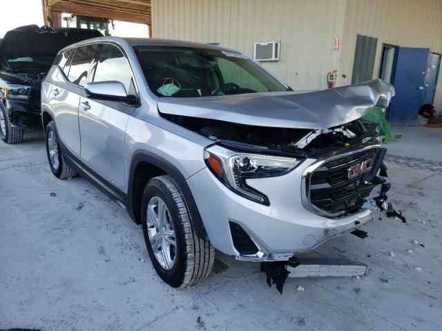 Salvage cars for sale from Copart Homestead, FL: 2020 GMC Terrain SL