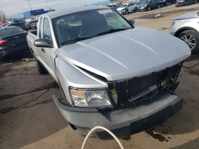Salvage cars for sale from Copart Woodhaven, MI: 2008 Dodge Dakota ST