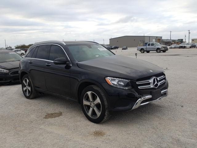 Salvage cars for sale from Copart San Antonio, TX: 2016 Mercedes-Benz GLC 300