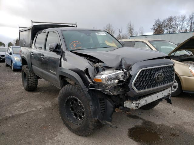 Salvage cars for sale from Copart Portland, OR: 2018 Toyota Tacoma DOU