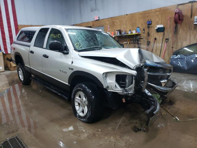 Salvage cars for sale from Copart Kincheloe, MI: 2008 Dodge RAM 1500 S