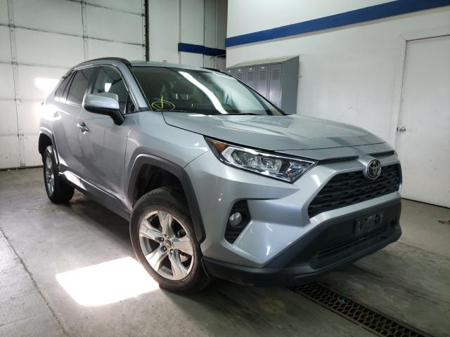 Salvage cars for sale from Copart Pasco, WA: 2020 Toyota Rav4 XLE