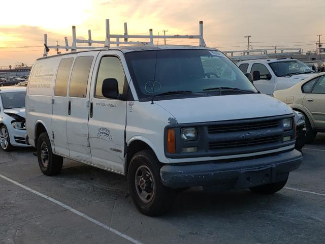 Salvage cars for sale from Copart Sun Valley, CA: 2002 GMC Savana G25