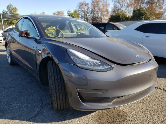 Salvage cars for sale from Copart Colton, CA: 2018 Tesla Model 3