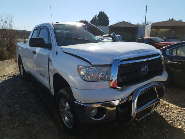 Salvage cars for sale from Copart China Grove, NC: 2013 Toyota Tundra DOU