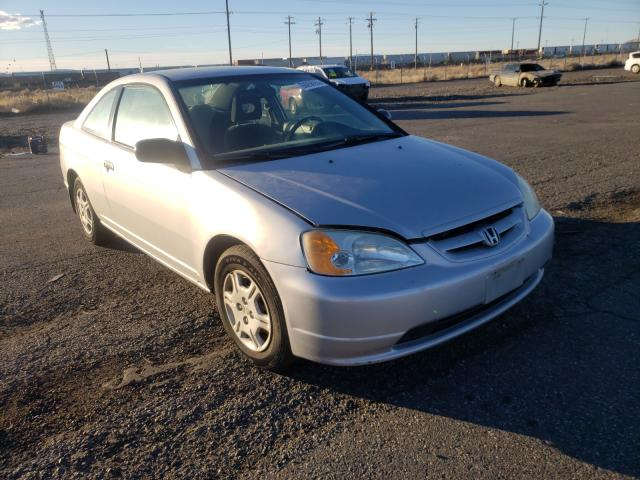 Salvage cars for sale from Copart Pasco, WA: 2001 Honda Civic LX