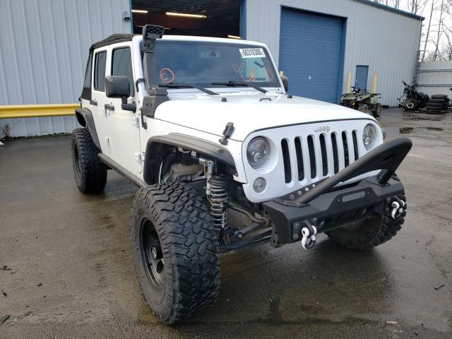 Salvage cars for sale from Copart Portland, OR: 2017 Jeep Wrangler U