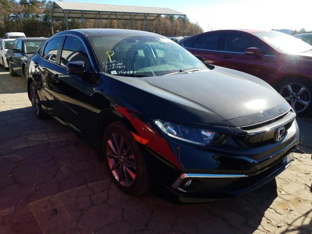 Salvage cars for sale from Copart Austell, GA: 2019 Honda Civic EX