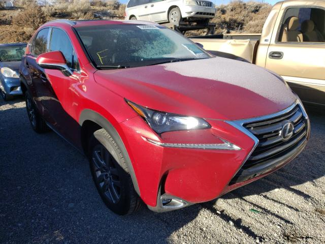 Salvage cars for sale from Copart Reno, NV: 2016 Lexus NX 200T BA