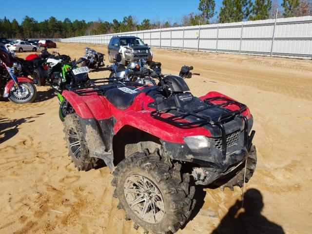 Salvage cars for sale from Copart Gaston, SC: 2016 Honda TRX420 FA