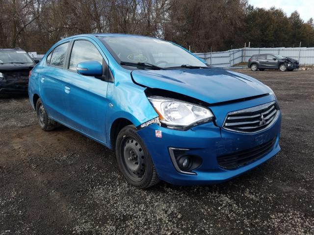 Salvage cars for sale from Copart London, ON: 2017 Mitsubishi Mirage G4