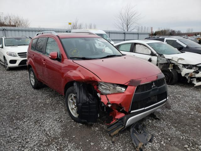 Salvage cars for sale from Copart Courtice, ON: 2010 Mitsubishi Outlander