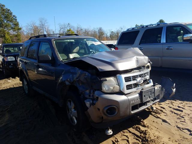 Salvage cars for sale from Copart Gaston, SC: 2010 Ford Escape XLT