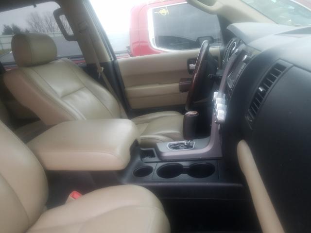 пригнать из сша 2012 Toyota Sequoia Pl 5.7L 5TDDW5G15CS055847