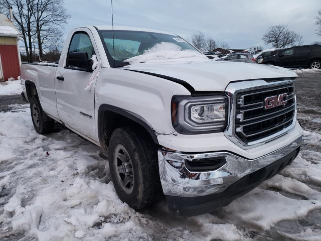 Salvage cars for sale from Copart Ebensburg, PA: 2017 GMC Sierra C15