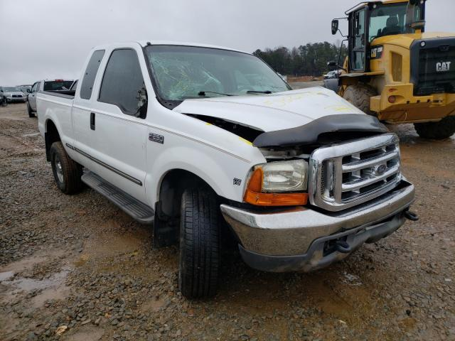 Salvage cars for sale from Copart Gainesville, GA: 1999 Ford F250 Super