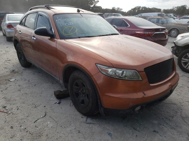 Salvage cars for sale from Copart Ocala, FL: 2003 Infiniti FX35