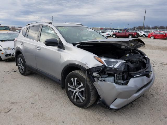Salvage cars for sale from Copart Indianapolis, IN: 2017 Toyota Rav4 LE