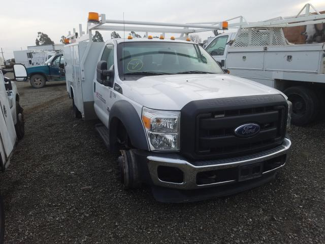 Salvage cars for sale from Copart Vallejo, CA: 2016 Ford F550 Super