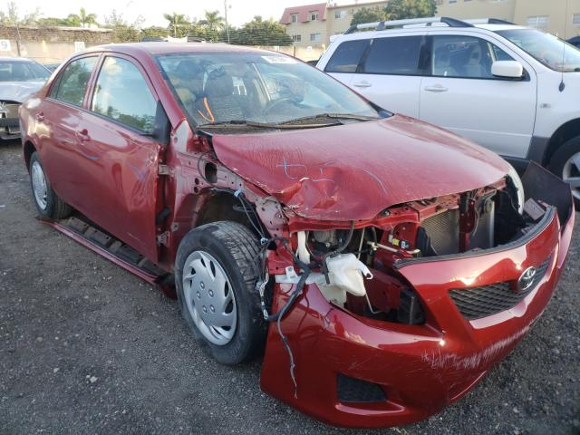 Salvage cars for sale from Copart Opa Locka, FL: 2010 Toyota Corolla BA