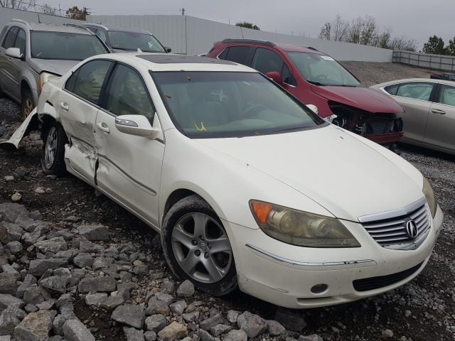 Salvage cars for sale from Copart Hueytown, AL: 2006 Acura RL